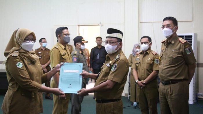 371 PNS Lampung Timur Naik Pangkat