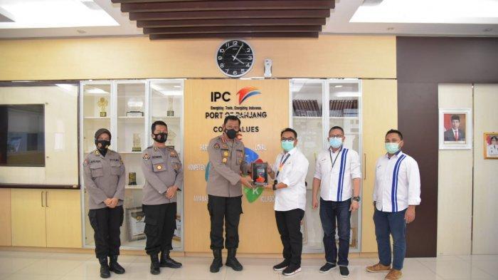 Program 100 hari Kapolri, Kabid Humas Polda Lampung Kunjungin IPC Panjang