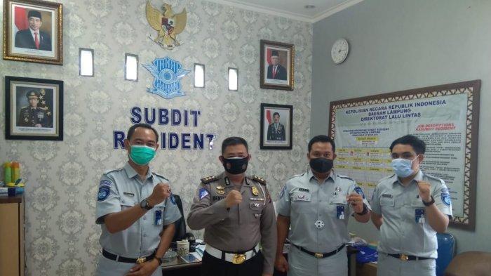 Jasa Raharja dan Polda Lampung Bahas Program Kerja