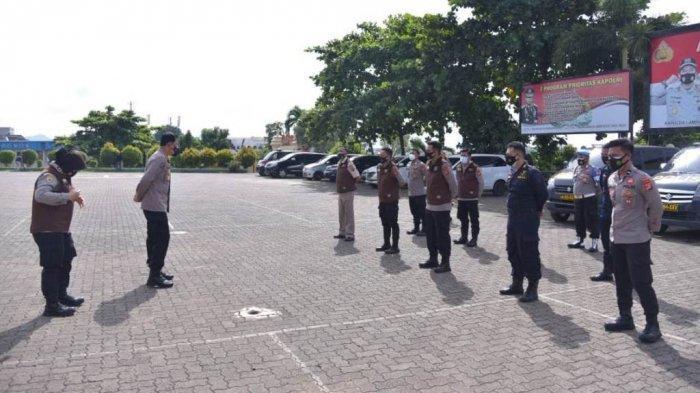 Polda Lampung Beri Trauma Healing ke Keluarga Korban Pesawat Sriwijaya Air asal Tulangbawang Barat