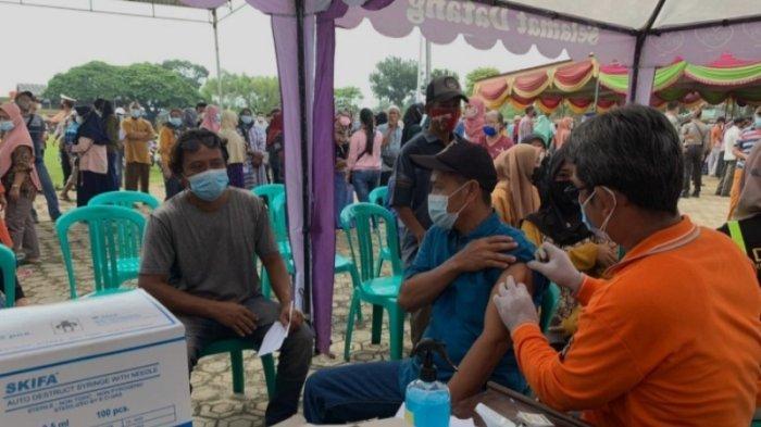 Polda Lampung Gelar Vaksinasi Massal Covid-19 di Lampung Timur, Sediakan 12 Ribu Dosis