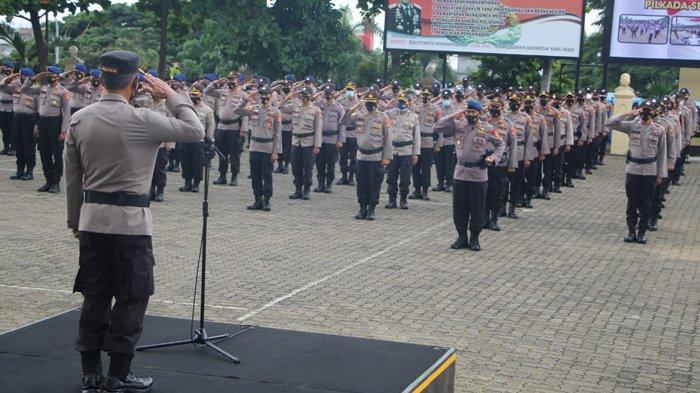 Polda Lampung Kerahkan 4.165 Personel Amankan Pilkada 2020 di Lampung