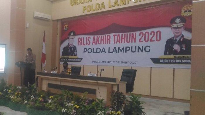 Polda Lampung Bentuk Tim Khusus Buru Pelaku Curanmor