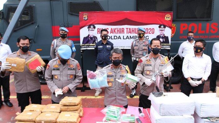 Wakapolda Lampung: Ini Bukan Beras, tapi Sabu