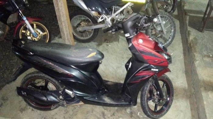 Polisi Amankan Diduga 2 Pelaku Curat Ranmor di Kampung Bali Sadhar Tengah, Way Kanan