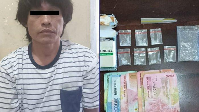 Polisi Amankan Pria Paruh Baya karena Sering Transaksi Narkoba di Tempat Ini