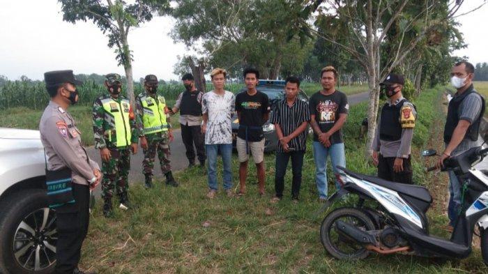 Polisi Bubarkan Ngabuburit Sambil Balap Liar di Way Bungur Lampung Timur