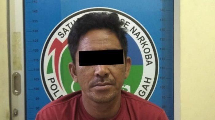 Menyamar Jadi Pembeli, Polisi Ciduk Pengedar Sabu di Bandar Surabaya Lampung Tengah
