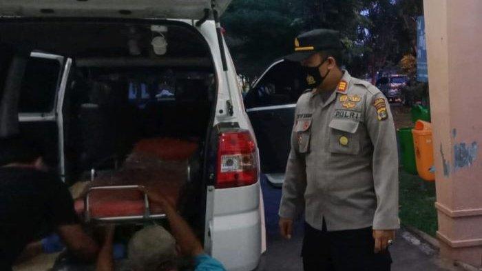 Jenazah Bripka Heri Disemayamkan di Rumah Duka Desa Bogorejo Pesawaran