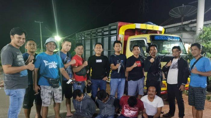 Polisi di Tulangbawang Gulung Komplotan Curanmor Spesialis Mobil, Sita 2 Pucuk Senpi