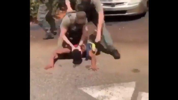 Borgol Tangan Remaja Lalu Hantam Kepalanya ke Tanah hingga Berdarah, Oknum Polisi Dipecat