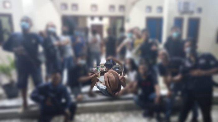 Polisi Gerebek Bandar Narkoba di Mesuji Lampung, Tersangka Diringkus di Depan Anak-Istri