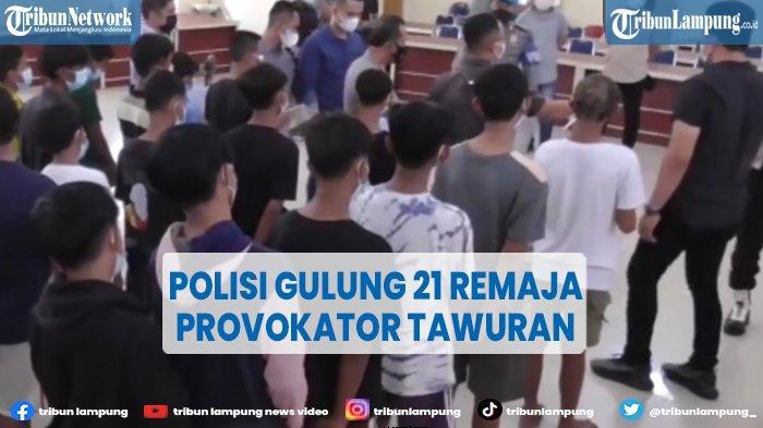 Polisi Gulung 21 Remaja Provokator Tawuran di Belawan