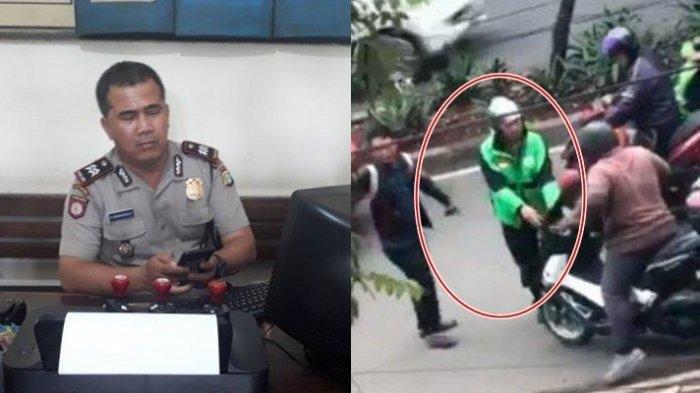 Viral Video Driver Ojol Cegat Pengendara NMAX di Tengah Jalan, saat Buka Jaket Ternyata Polisi