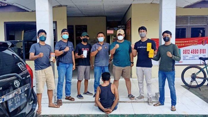 Polisi Tulangbawang Lampung Amankan Pelaku Pelaku Curat Spesialis Gerai Ponsel