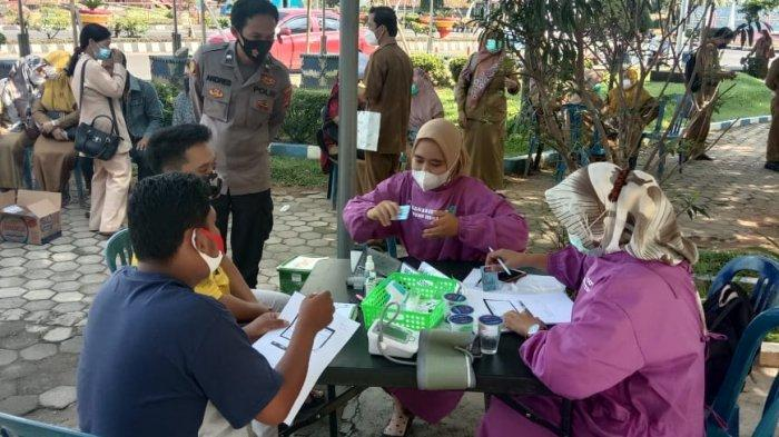 Baru 4 Persen Warga Lampung Utara Divaksin Covid-19