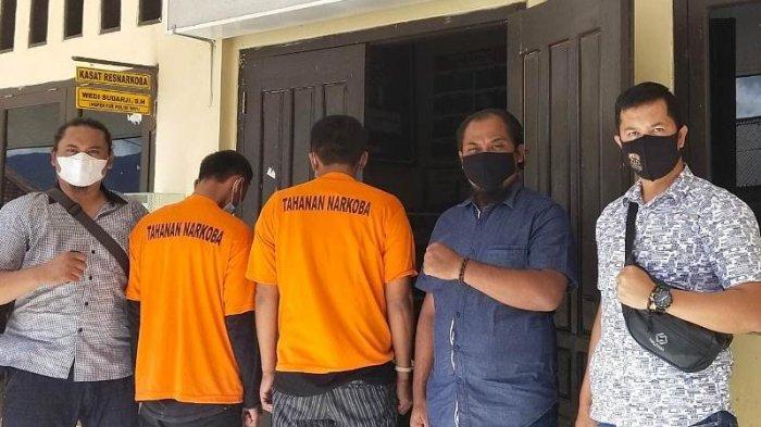 Polres Lampung Barat Ringkus 2 Pelaku Terduga Penyalahgunaan Narkoba, Salah Satunya Mahasiswa