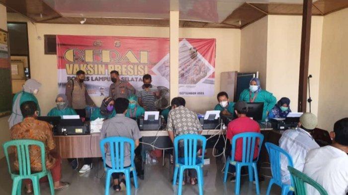 Polres Lampung Selatan Siapkan 2.500 Dosis Vaksin Presisi di 4 Mapolsek dan 1 SMA
