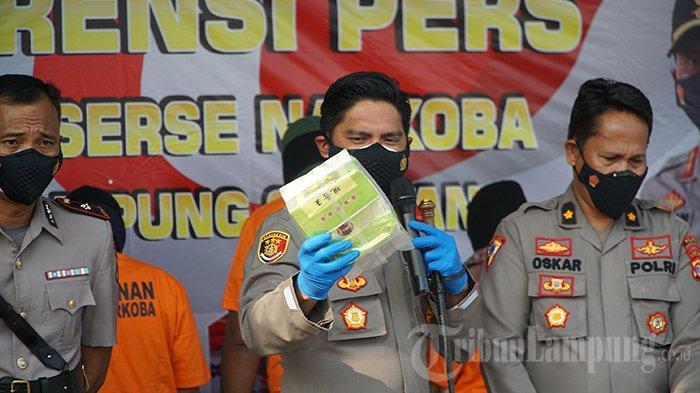Polres Lampung Selatan Sita 16 Kg Sabu dan 14 Kg Ganja