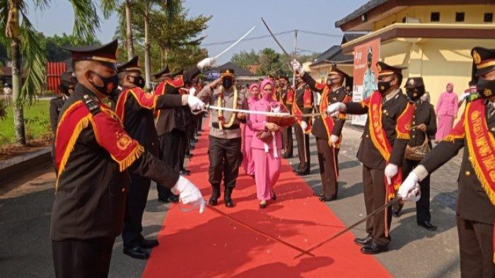 Polres Lampung Timur Gelar Lepas Sambut Pimpinan