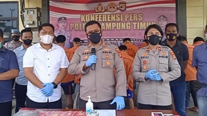 Polres Lampung Timur Upayakan Pemberantasan C3 dan Penanganan Covid-19