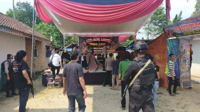 Satgas Covid dan Polres Lampung Tengah Tegas Tak Beri Izin Kuda Kepang