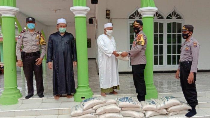 Polres Lampung Tengah Ajak Santri Darul Muttaqin Terapkan 3M