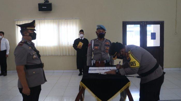 Iptu Saipulloh Resmi Jabat Kapolsek Melinting Lampung Timur
