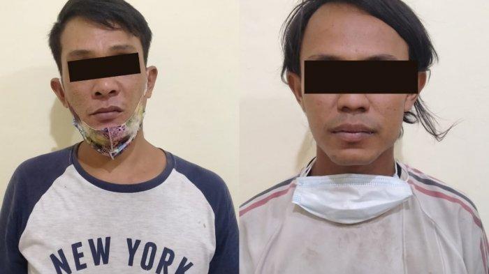 Polres Metro Lampung Amankan 2 Warga Bawa Sabu