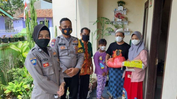 Polres Pesawaran Lampung Beri Bantuan Anak Yatim/Piatu Akibat Covid-19, Ada Beras 10 Kg