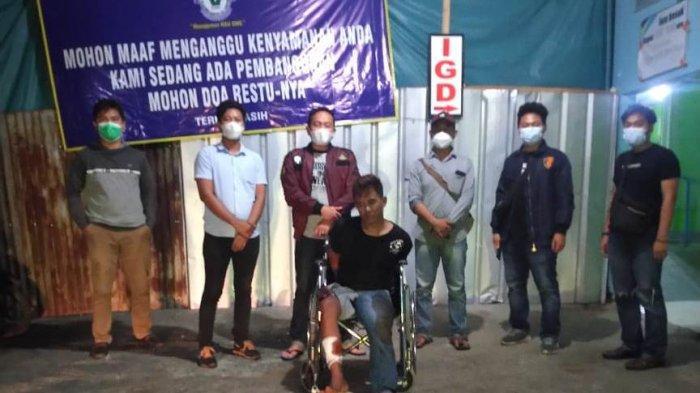 Polres Pesawaran Lumpuhkan Buron Curas asal Bandar Lampung