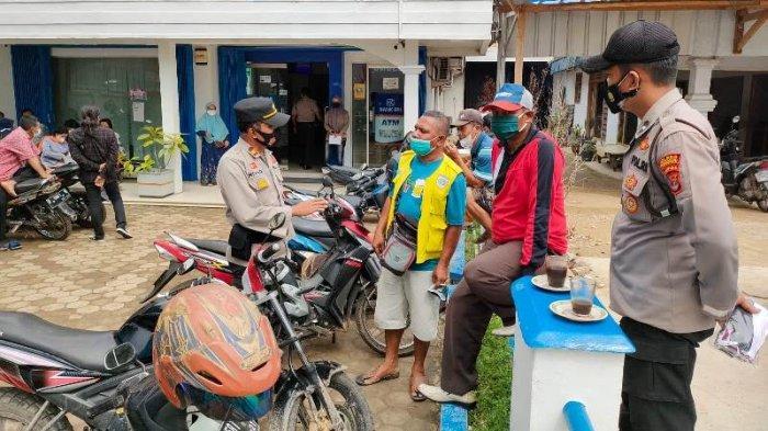 Polres Pringsewu Lampung Beri Penyuluhan Tukang Parkir dan Pelajar Terkait Premanisme