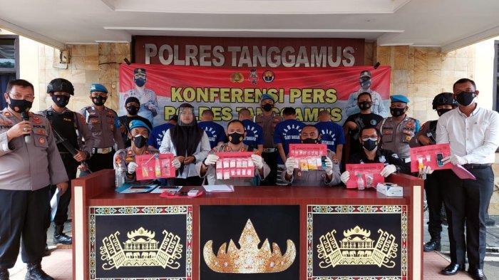 Satnarkoba Polres Tanggamus Lampung Ungkap Peredaran Sabu-sabu Rp 100 Juta