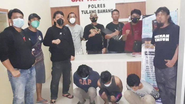 Polres Tuba Lampung Bekuk Komplotan Begal Mobil Pikap, Terdapat Dua Tersangka Masih ABG