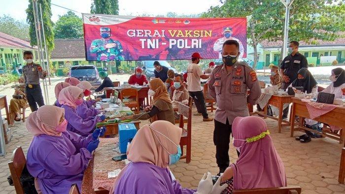 Polres Tulangbawang Barat Lampung Buka 5 Gerai Vaksinasi Covid-19 Dosis Kedua