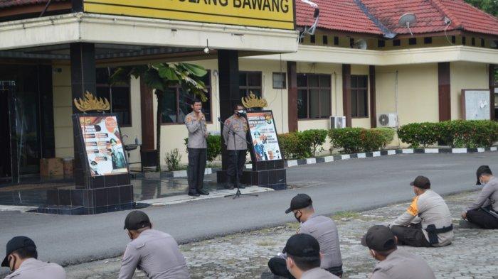 Polres Tulangbawang Kirim 100 Personel ke Lampung Tengah Bantu Amankan Pilkada