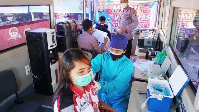 Polres Tulangbawang Kembali Gelar Vaksinasi Gratis, Warga Cukup Bawa KTP