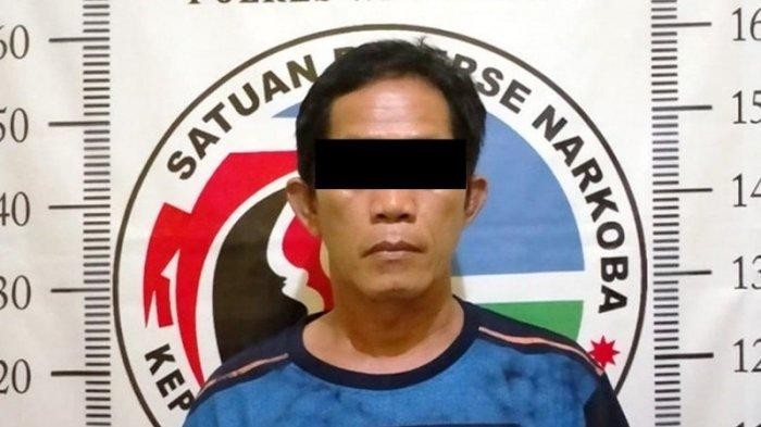 Polres Way Kanan Bekuk Pemakai Sabu di Kampung Way Tuba Lampung