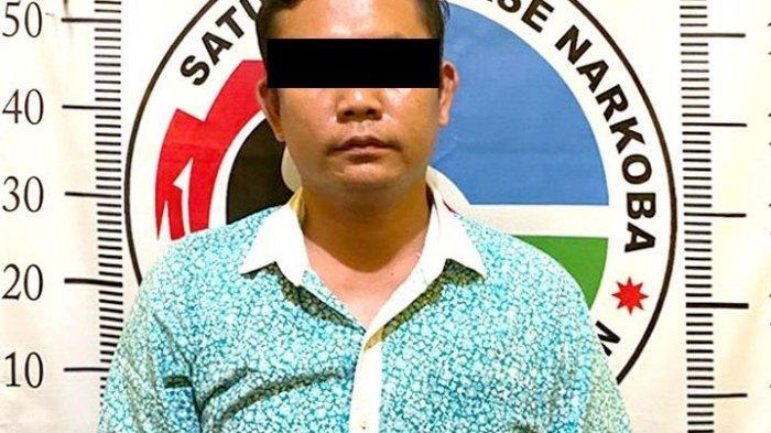Beli Tembakau Sintetis Lewat Medsos, Pria Way Kanan Lampung Diringkus Polisi