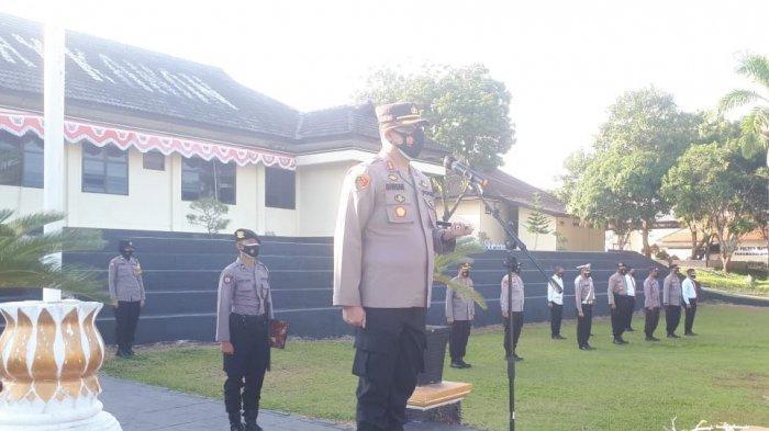 Gandeng Mahasiswa STAI Al Ma'arif, Polres Way Kanan Lampung Gelar Vaksinasi Covid-19