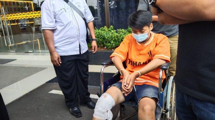 Polresta Bandar Lampung Tembak Pelaku Curanmor, Sempat Kejar-kejaran dan Tabrak Orang