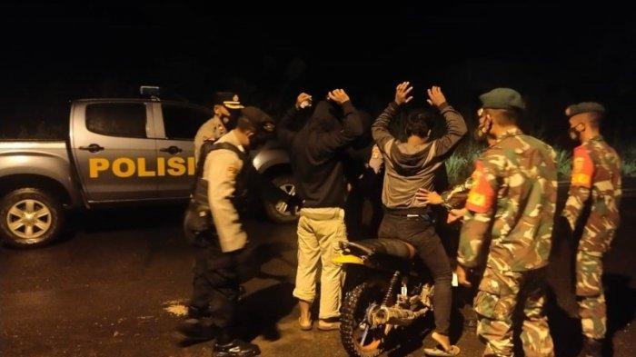Polri-TNI di Way Kanan Lakukan Patroli KRYD Antisipasi Tindak Kejahatan Jalanan