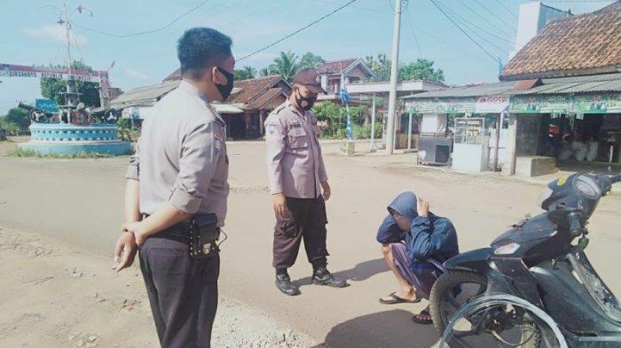 Polsek Blambangan Umpu Lakukan Operasi Yustisi Penertiban Masker di Negeri Agung Way Kanan