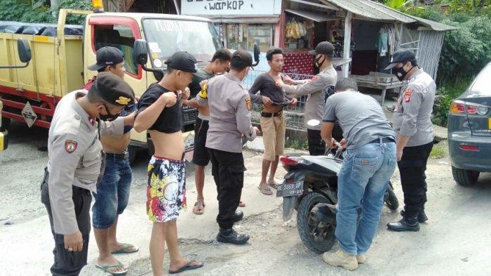 Razia Motor Bodong, Polsek Candipuro Lampung Selatan Razia Rutin Minimalisir C3
