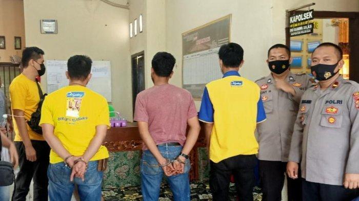 Polsek Cukuh Balak Tangkap Pecatan Polisi Nyabu di Pantai Karang Putih