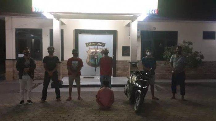 Polsek Gedongtataan Tangkap Penadah Motor Curian Modus Penggelapan di Bandar Lampung