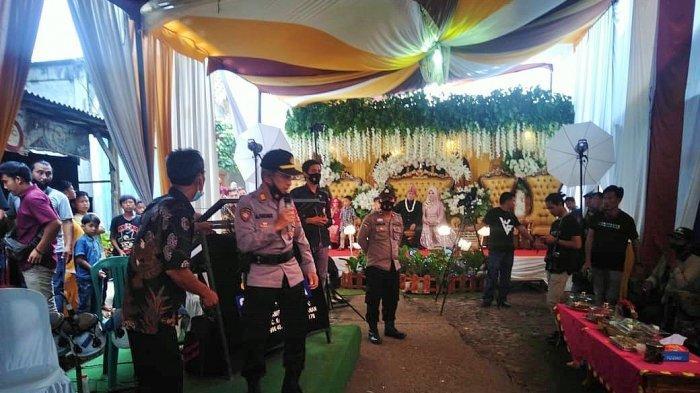 Langgar Prokes, Resepsi Pernikahan di Way Kanan Dibubarkan Polsek Kasui