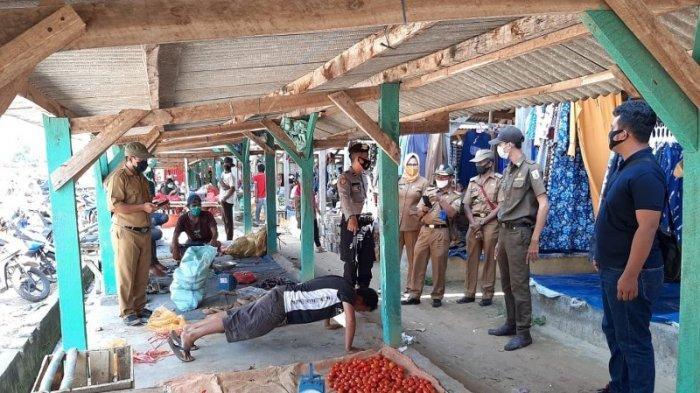 Polsek Negeri Besar, Way Kanan Gelar Operasi Yustisi Tertibkan Protokol Kesehatan
