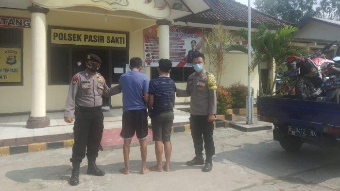 Polsek Pasir Sakti Serahkan Pelaku Curanmor antar Provinsi ke Polsek Cikarang Timur