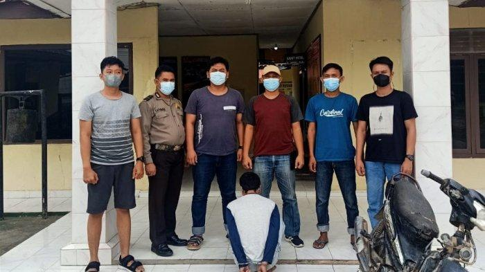 Gasak Motor di Parkiran Masjid Wilayah Tulangbawang, Warga Pringsewu Dibekuk Polisi
